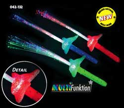 "LED- Glasfaserlampe ""DELFIN"""